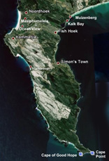 Peninsula Publishers - Map